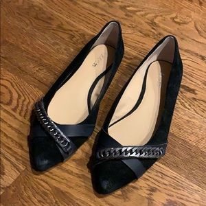 Joe's Jeans Pointed Chain Flats 9.5